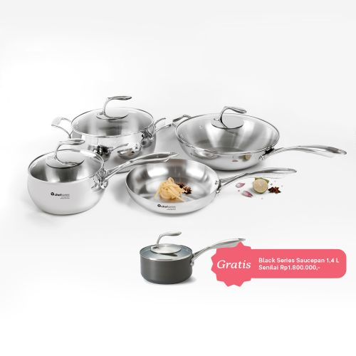 [SOLD OUT] TCHEF COMPLETE SET WITH GIFT